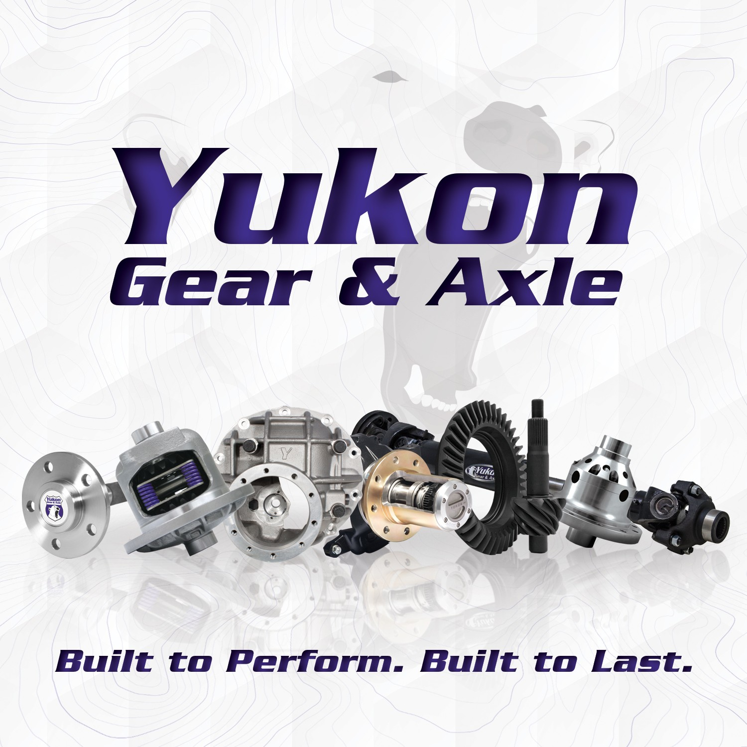 High performance Yukon replacement Ring & Pinion gear set for Dana 44 in a 5.89 ratio
