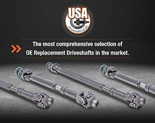 "NEW USA Standard Front Driveshaft for Dodge RAM, 29-1/8"" Center to Center"